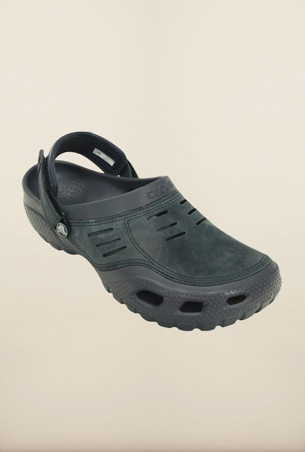 4de82bb14 Buy Crocs Yukon Sport Storm Grey Clogs Online at best price at ...