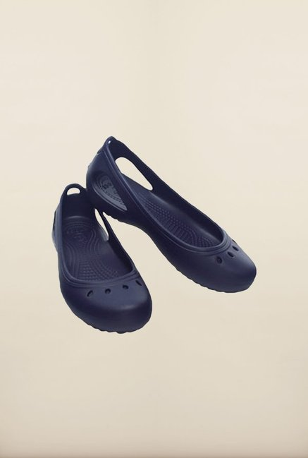 Crocs Kadee Nautical Navy Slip-Ons