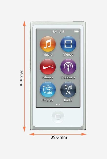 Apple MKN22HN/A iPod Nano 16 GB Silver