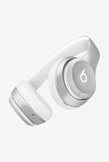 Beats by Dr.Dre Solo2 MKLE2ZM/A On Ear Headphone Silver