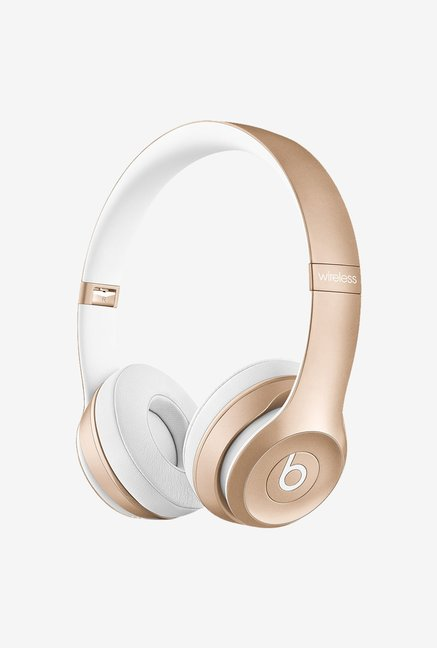 Beats by Dr.Dre Solo2 MKLD2ZM/A On Ear Headphone Gold