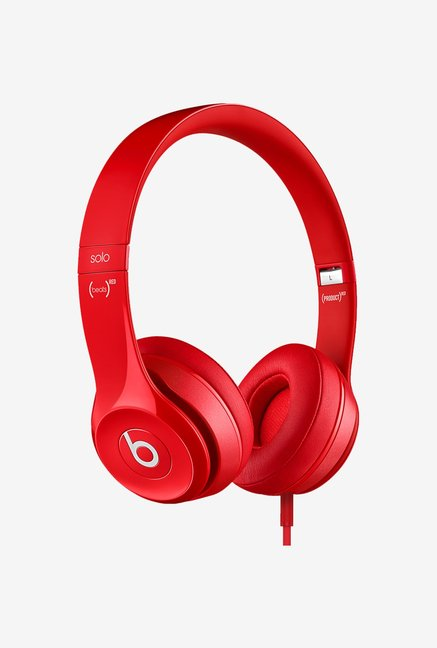 Beats by Dr.Dre Solo2 MH8Y2ZM/A On Ear Headphone Red