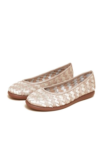 Aerosoles Gold Flat Ballerinas