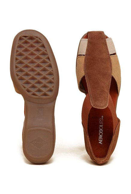Aerosoles Brown Fisherman Sandals