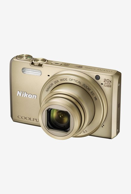 Nikon Coolpix S7000 Point and Shoot Camera (Gold)