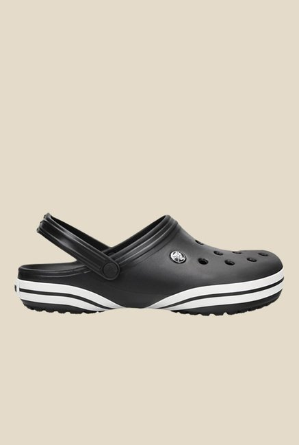Crocs Crocband X Black & White Clogs