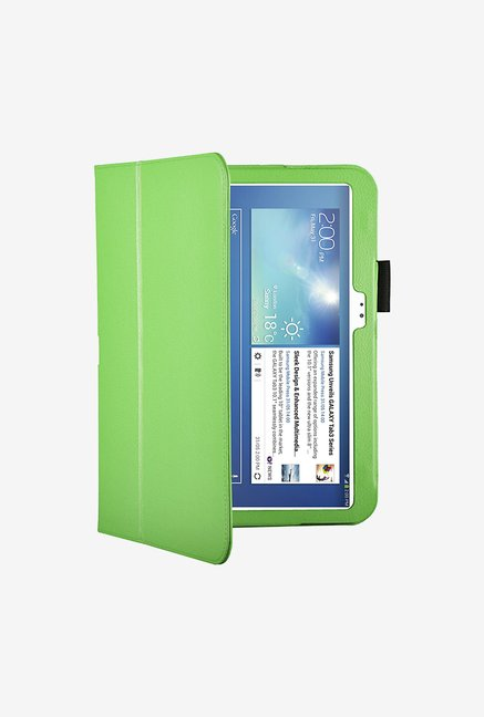 "Manvex Leather Case for Samsung 10.1"" Galaxy Tab 3 (Green)"
