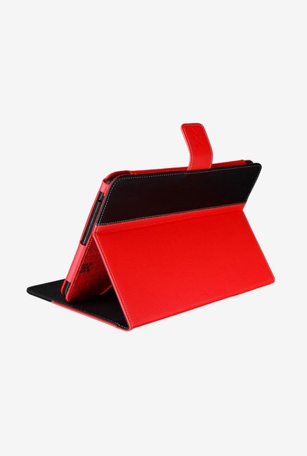 Manvex Leather Case for Asus MeMO Pad 7 ME172V (Red/Black)