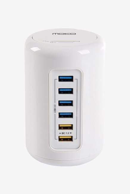 Moko 6Port HighSpeed USB 3.0 Hub (White)
