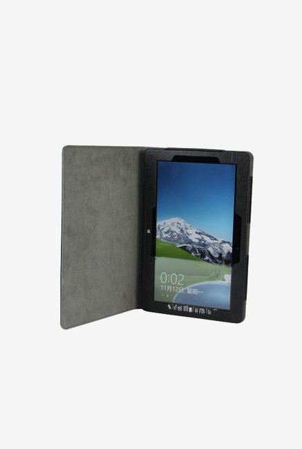 Manvex Leather Case for Asus VivoTab Smart ME400 (Black)