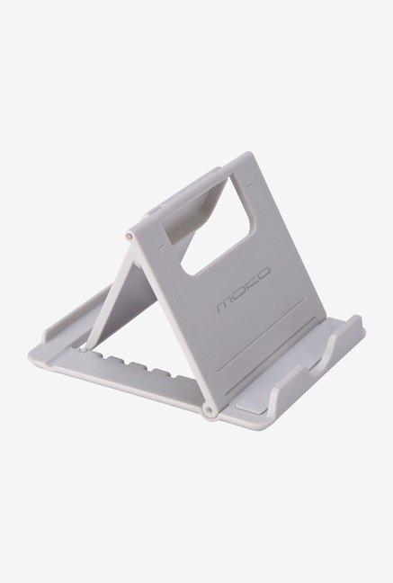 MoKo Multiangle Foldup Rubber Tablet Stand (Grey)