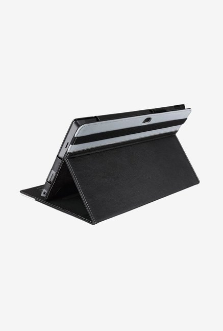 Manvex Leather Case for Microsoft Surface Pro (Black/Grey)