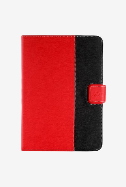 Manvex Leather Case for Acer Iconia B1A71 (Red/Black)