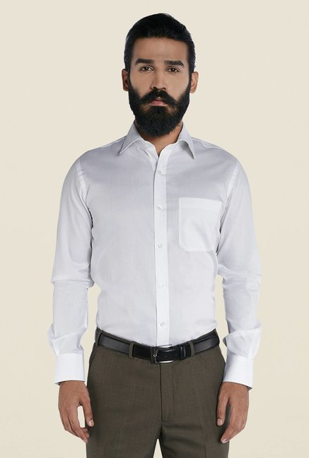 Raymond White Formal Shirt