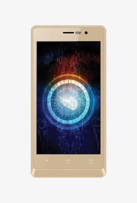 Intex Aqua Secure Dual SIM 8 GB (Champagne)