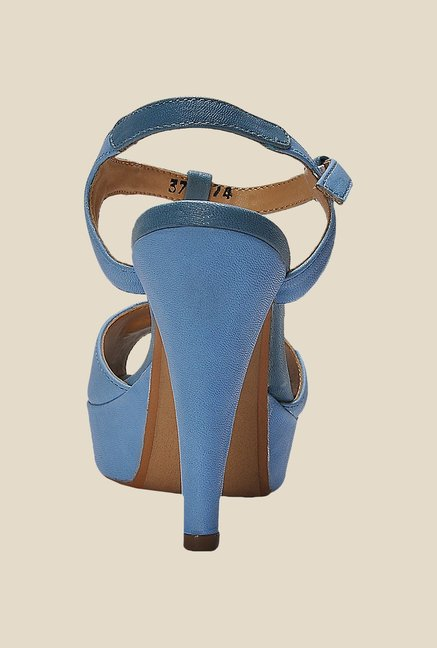 La Briza Blue Ankle Strap Sandals