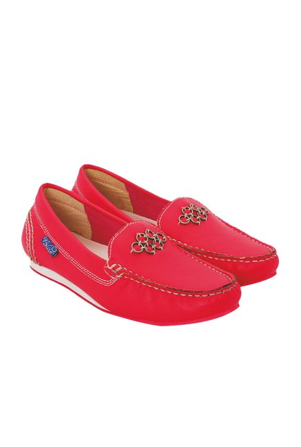 La Briza Pink Casual Loafers