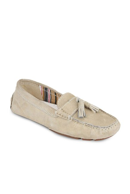 La Briza Beige Casual Loafers