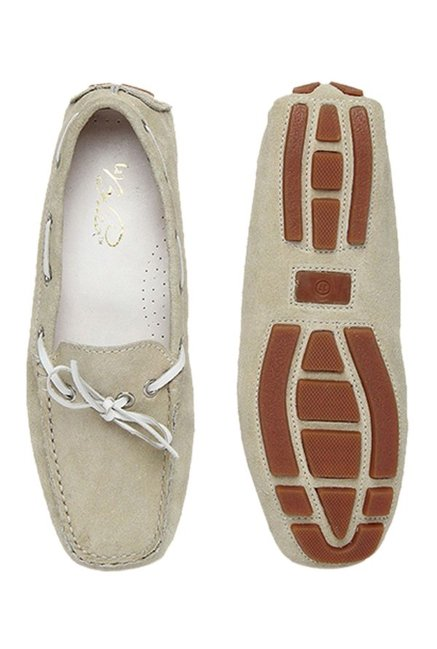 La Briza Beige Boat Shoes