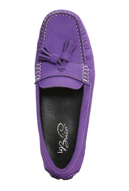 La Briza Purple Casual Loafers