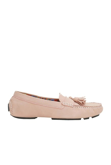 La Briza Peach Casual Loafers