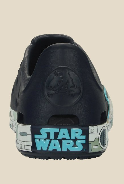 Crocs Bump It Millennium Falcon Star Wars Navy Casual Shoes