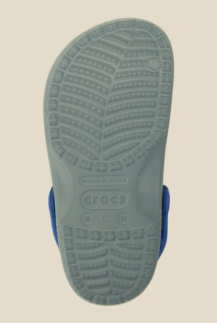 Crocs CC Batman Concrete & Blue Clogs