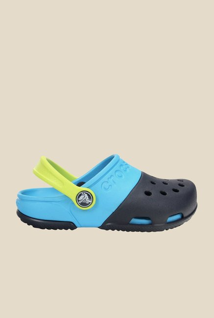Crocs Electro II Navy & Electric Blue Clogs
