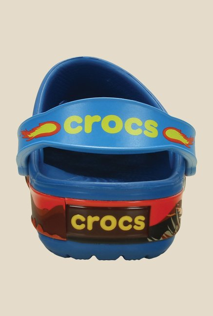 Crocs Crocband Monster Truck Ultramarine and Red Clogs
