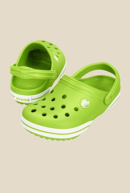 Crocs Crocband-X Volt Green Clogs