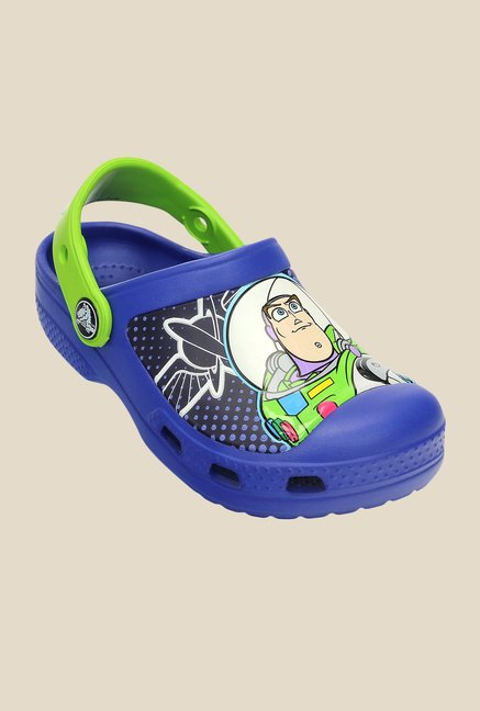 Crocs CC Disney Woody & Buzz Cerulean Blue Clogs