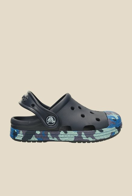 Crocs Bump It Camo Navy Clogs