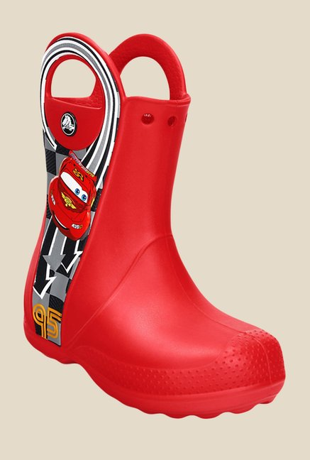 Crocs Handle It Disney McQueen PS Red Casual Boots