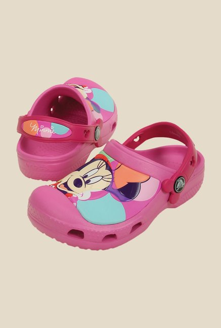 Crocs CC Disney Minnie Colorbloc Party Pink Clogs