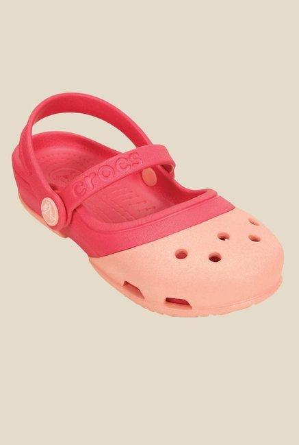 ec2541baef99 Buy Crocs Kids Electro II MJ PS Melon   Poppy Sling Back Sandals ...