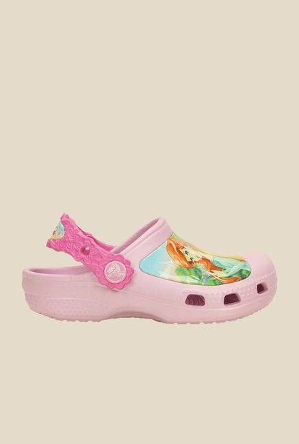 Crocs CC Disney Princess Friends Ballerina Pink Clogs