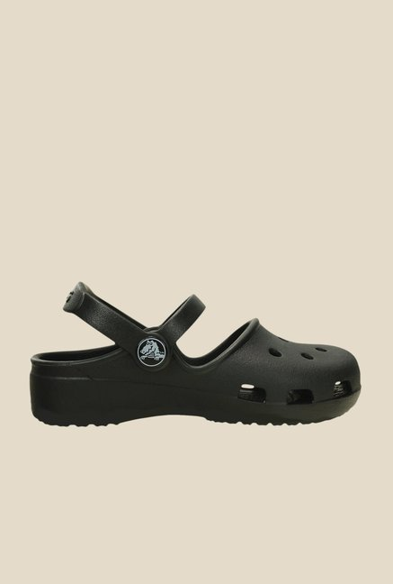 Crocs Karin Black Clogs