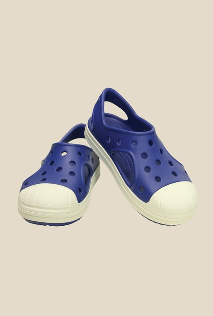 Crocs Bump It Cerulean Blue Sling Back Sandals