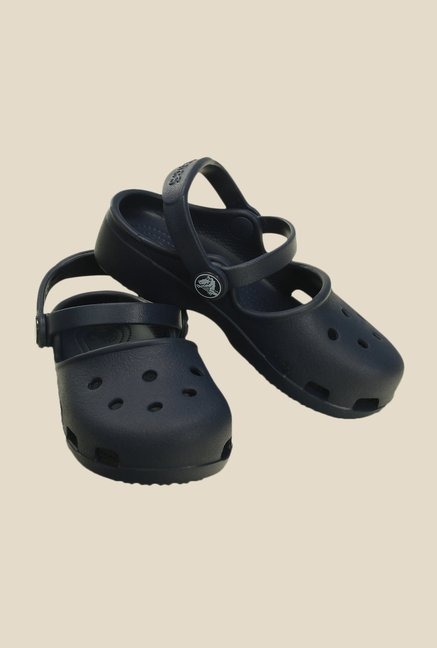 Crocs Karin Navy Clogs