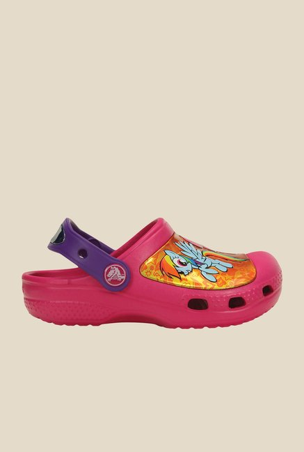 Crocs CC My Little Pony Candy Pink Clogs