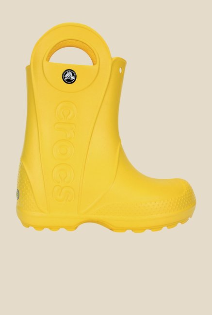 Crocs Handle It Yellow Casual Boots