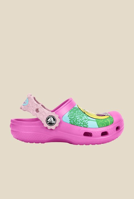 Crocs CC Disney Magical Day Princess Party Pink Clogs