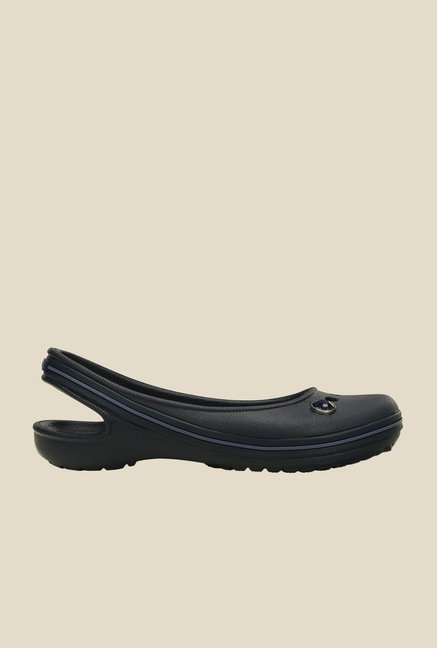 Crocs Genna II Gem Navy & Bijou Blue Sling Back Sandals