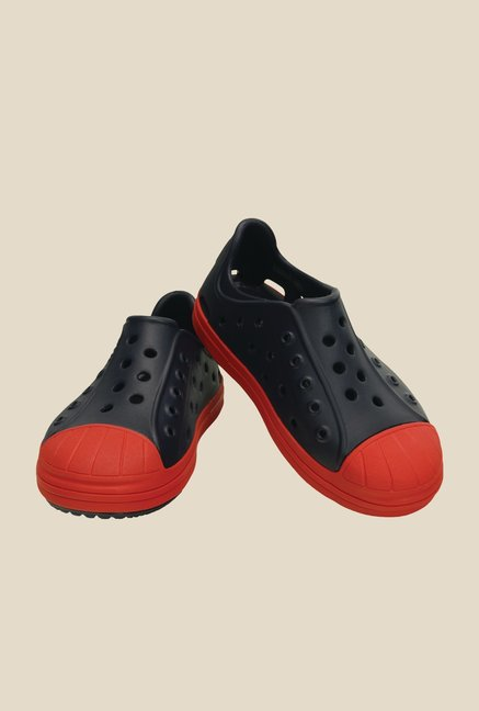 Crocs Bump It Navy & Flame Casual Shoes