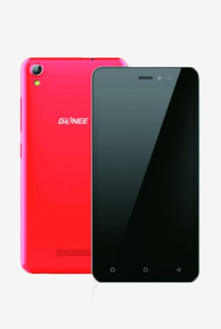 Gionee P5W Face Unlock Smartphone (Red)