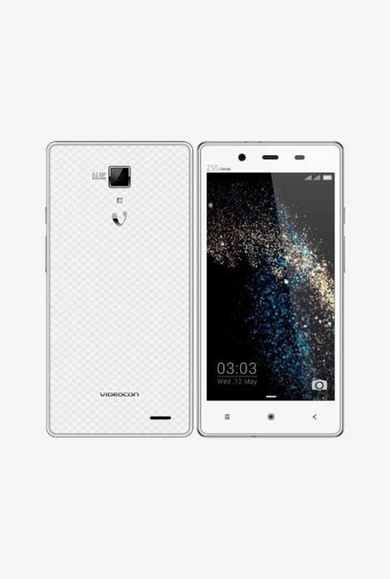 Videocon Z55 Dash (WHITE/SILVER )