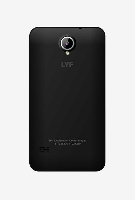 LYF FLAME 2 4G Dual Sim 8 GB (Black)