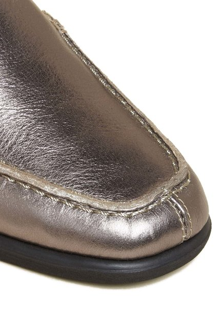 Aerosoles Four Seasons Gun Metal Moccasins