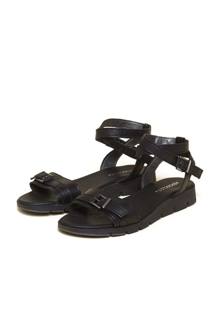 Aerosoles Freedom Black Sandals
