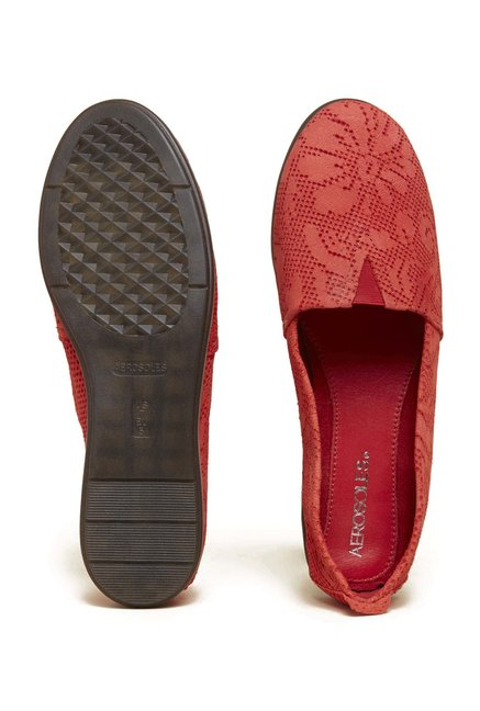 Aerosoles Catalan Red Slip-Ons